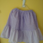 2-tier skirt (Poly Cotton)
