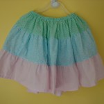 Tiered twirly skirt (Poly Cotton)